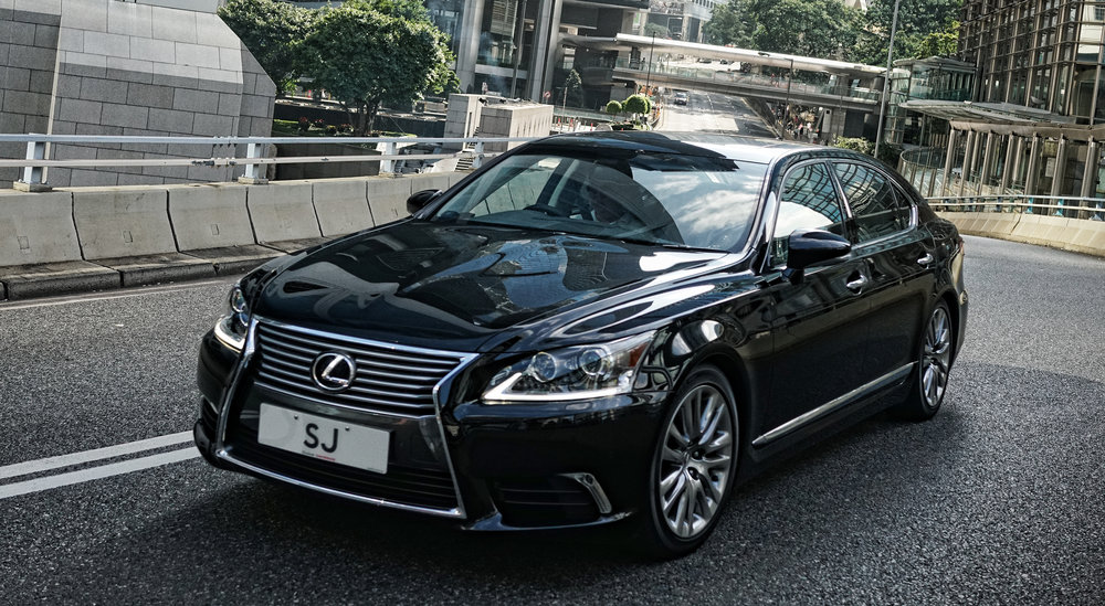 The car of the Senior Justice in Hong Kong