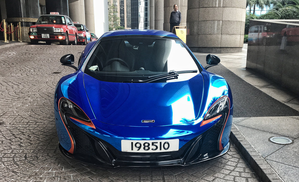 For once not one of my images, this image of this glorious McLaren was taken by Colin (a client) at the Grand Hyatt Hotel... the bodywork was done by my friend Alston Law at Vibrantlize and what a job he did, simply amazing.