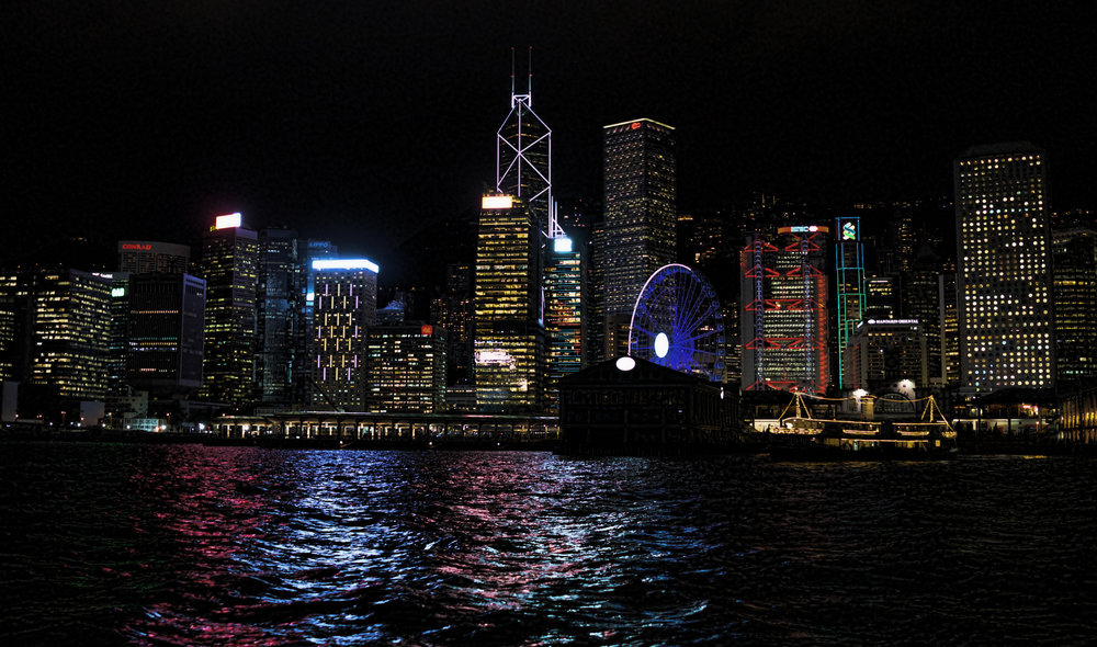 Hong Kong Night Tour -  The Hong Kong Island Skyline, simply magnificent! so, two very special views are on offer, both of them world beaters.