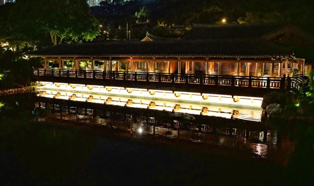 Hong Kong Night Tour -  Some of our lovely cultural places are open at night, like the magnificent Nan Lian Gardens in Diamond Hill.