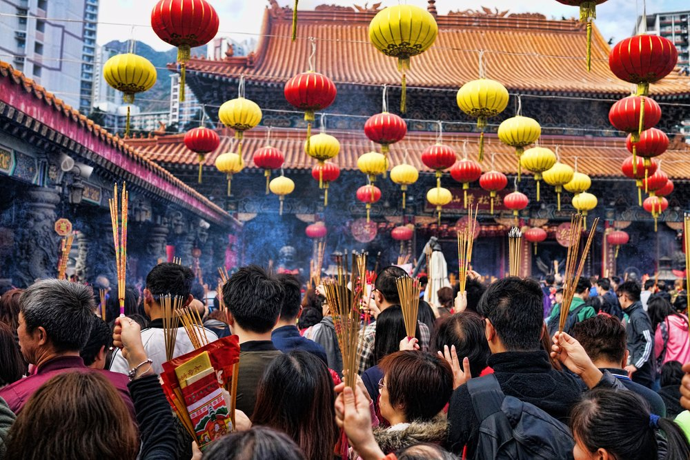To me, there is nothing more cultural in Hong Kong than the masses that throng to the Sik Sik Yuen Wong Tai Sin Temple at Chinese New Year, it is simply amazing. WOW