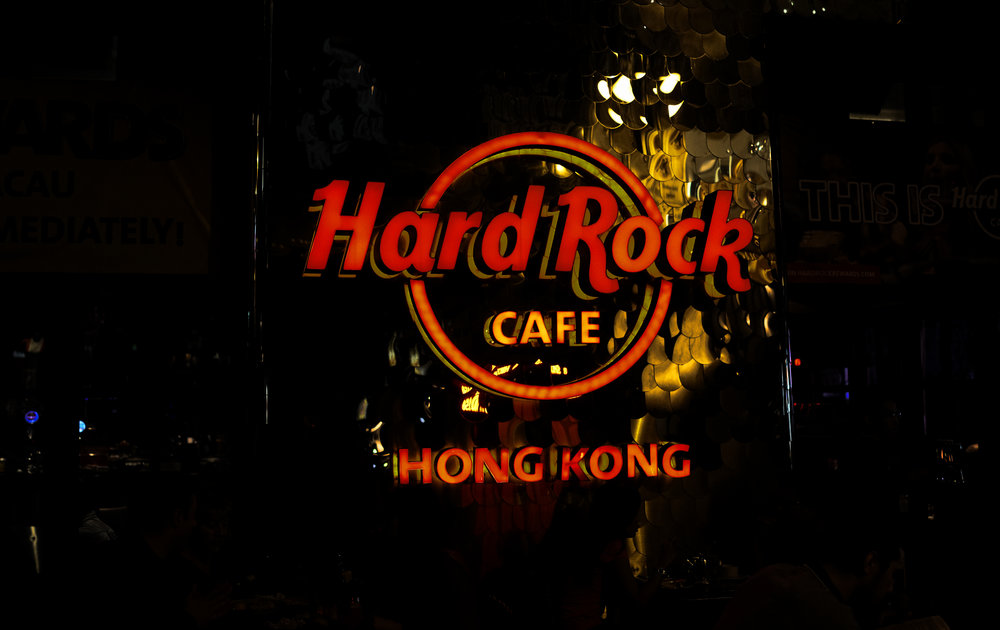 Most visitors to Hong Kong end up in Lan Kwai Fong, the entertainment district on Hong Kong Island and home to the Hard Rock Cafe which I have to say is pretty decent and I have a lot of clients end up there buying gifts.....