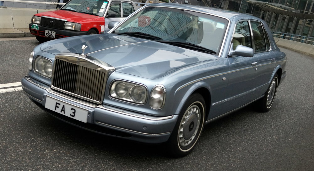 Quite an old Rolls Royce but in immaculate condition and then look at the image below