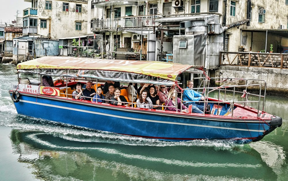 Tai O - what can I say, it is simply awesome.... now, one thing, if you book a private tour of Hong Kong with me and we go to Tai O, we do not go on the boat! we walk the village, you see an awful lot more on foot than a 5 minute ride on the water, but hey, that's why you pay me the big bucks!!