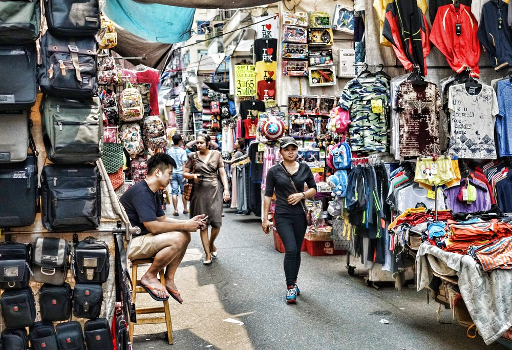 "Kid Friendly Tours Hong Kong -  The Markets - and all tours with kids should include a visit to the Ladies Market in Mong Kok, it has ""stuff"" by the truck load and is an Aladdins Cave for young folk... bargaining is essential and prices are kid friendly as well."