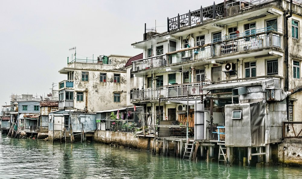 Oh golly gosh, I just love the Tai O Fishing Village on Lantau Island, it is just terrific and it is very unique in Hong Kong