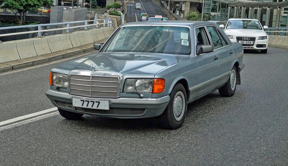 Mercedes Benz 1990's SEL - 7777