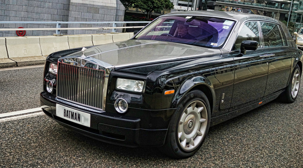 Rolls Royce Phantom - BATMAN