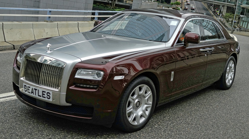 Rolls Royce Ghost - BEATLES