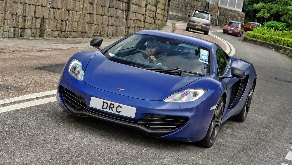 McLaren 12C - DRC
