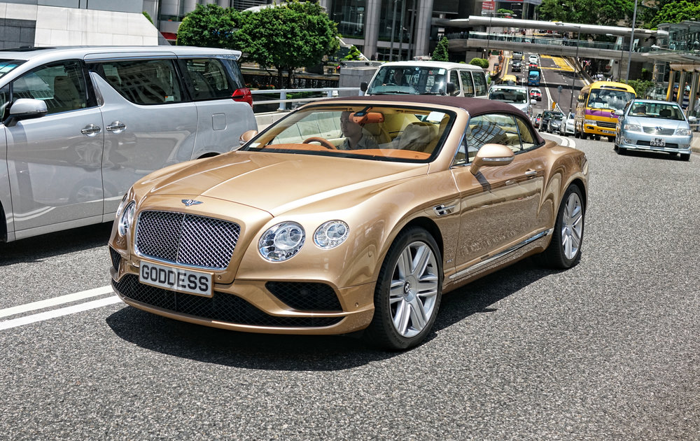 Bentley Continental Convertable - GODDESS