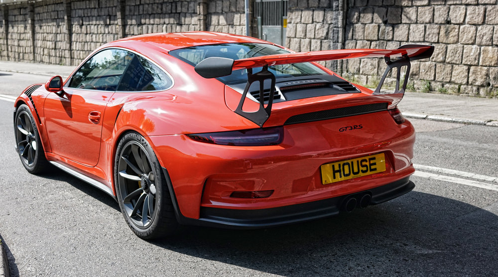 Porsche GT 3 RS - HOUSE