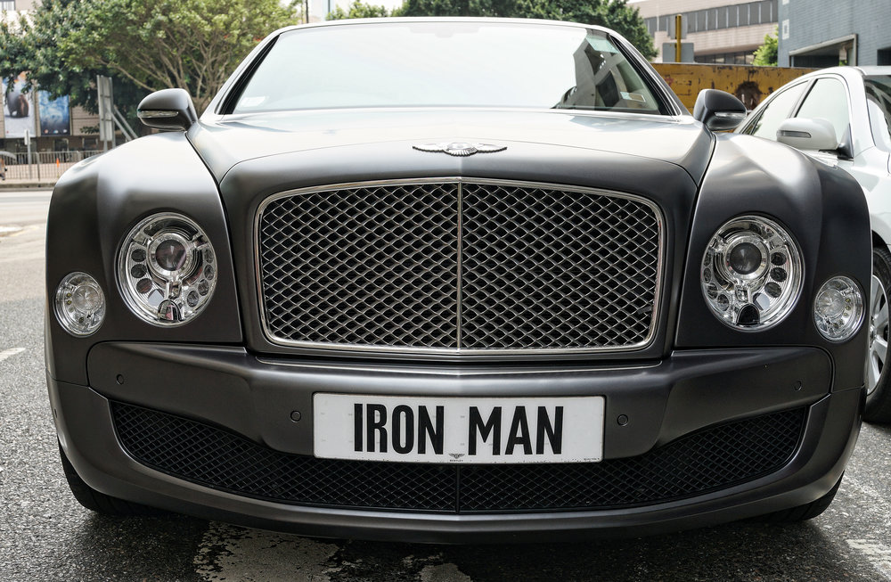 Bentley Mulsanne - IRON MAN