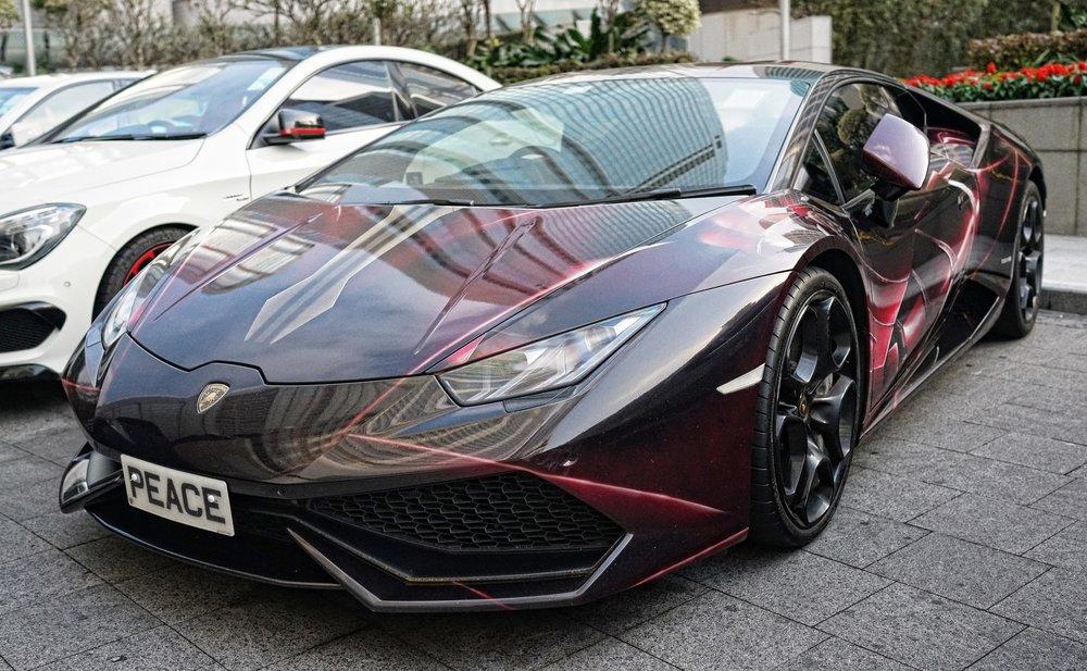 Lamborghini Huracan - PEACE