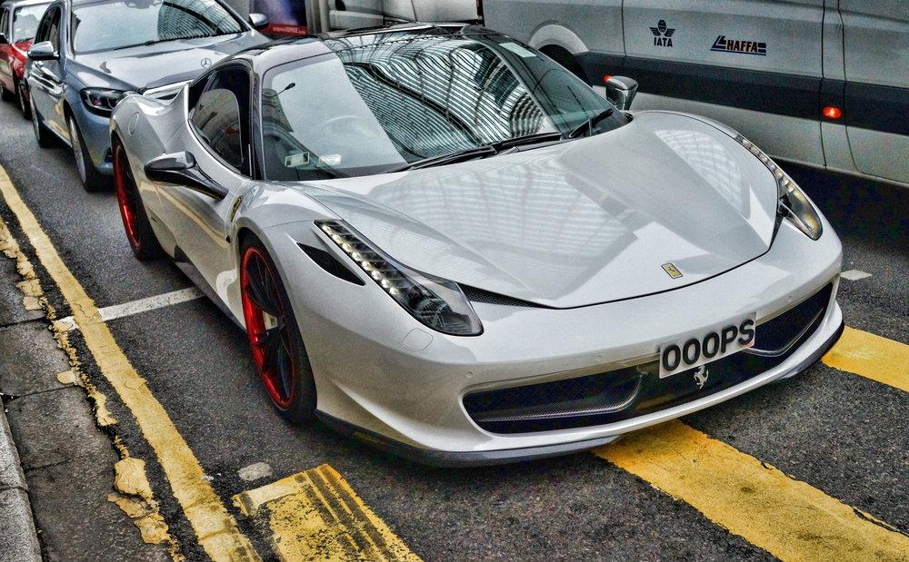 Ferrari 458 - OOOPS