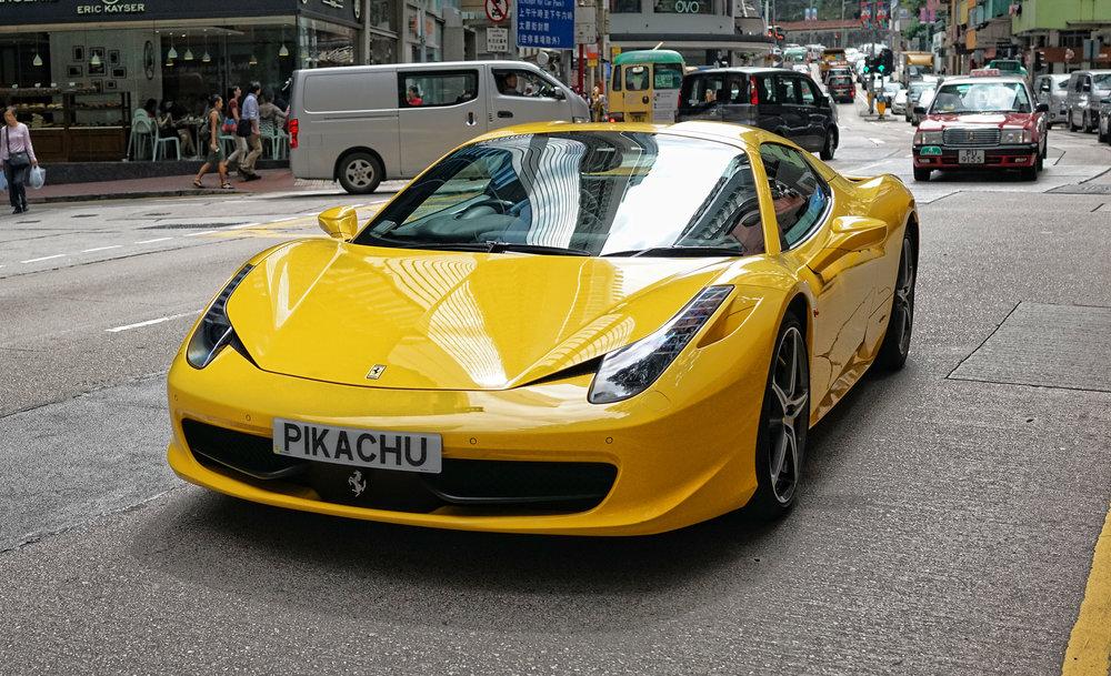 Ferrari 458 - PIKACHU