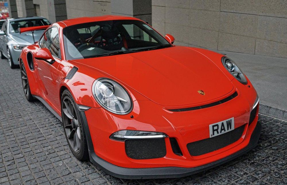 Porsche GT 3 RS - RAW