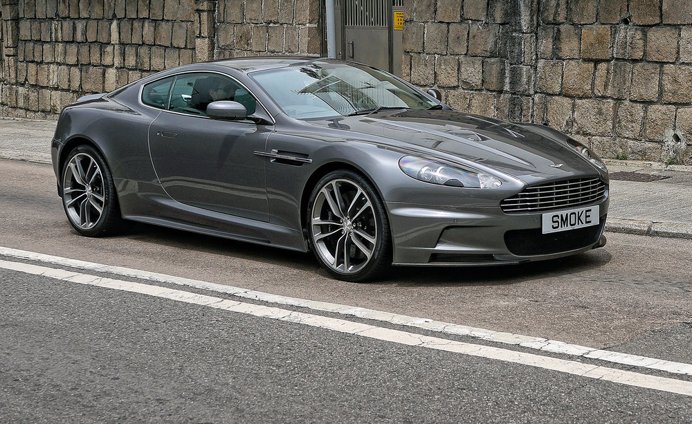 Aston Martin DB 9 - SMOKE