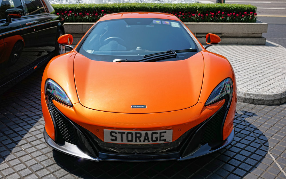 McLaren 650 S - STORAGE