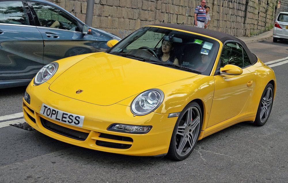 Porsche 911 - TOPLESS