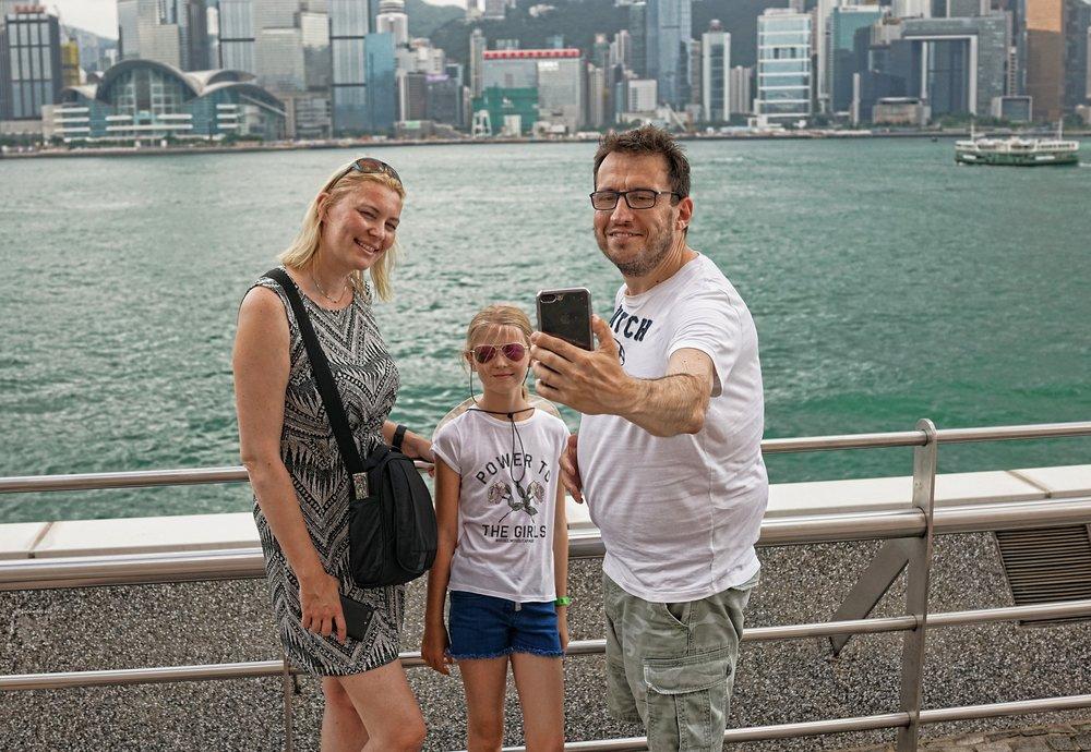 Celine, Philippe + Ashlen in TST.JPG