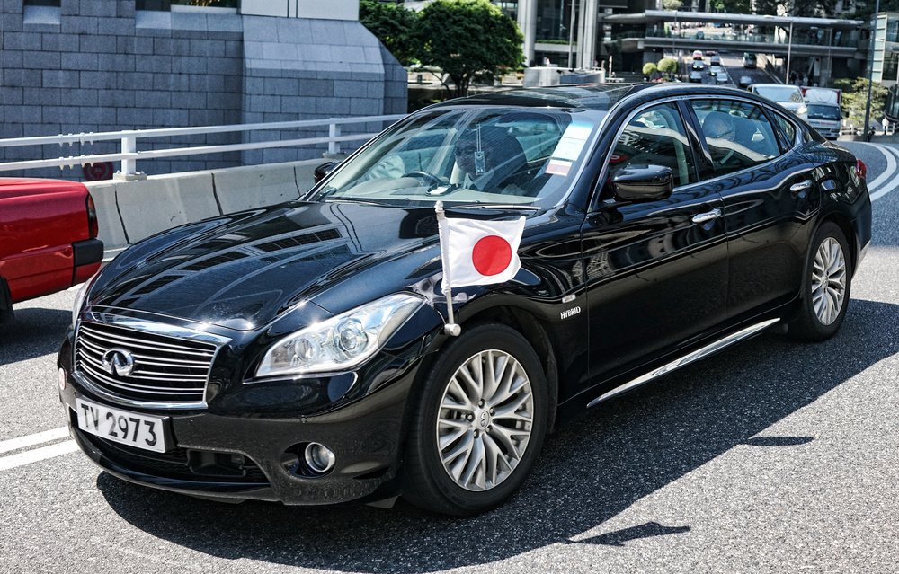 Japanese Consulate Car.JPG