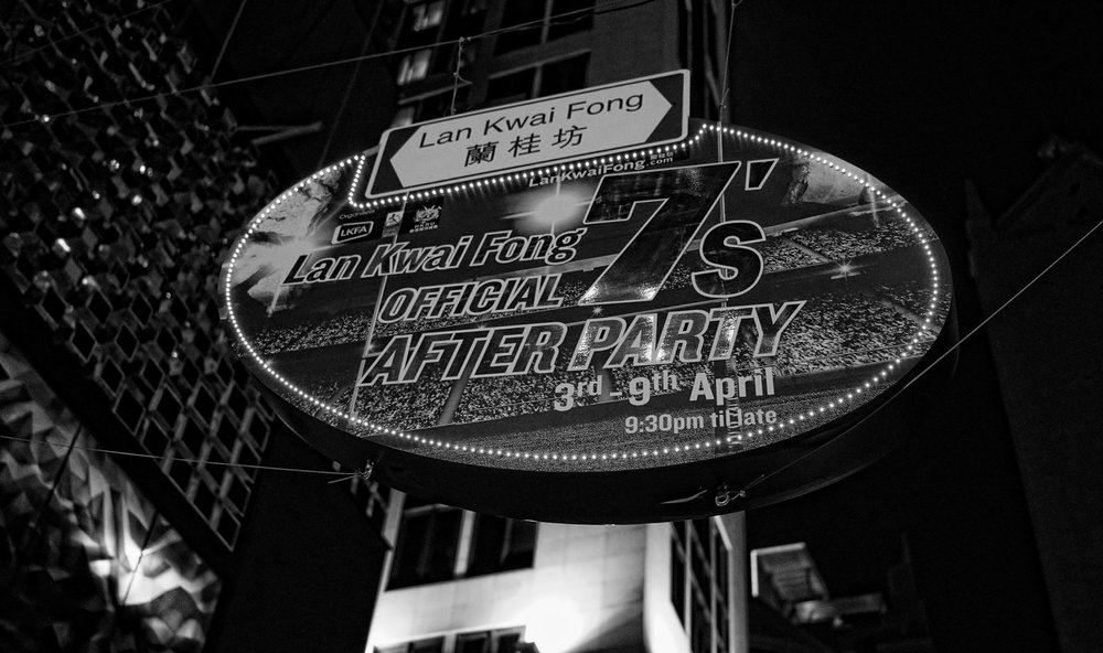 Lan Kwai Fong Entertainment District | Virtually all the buildings are owned by Allan Zeman a Jewish Businessman here. -