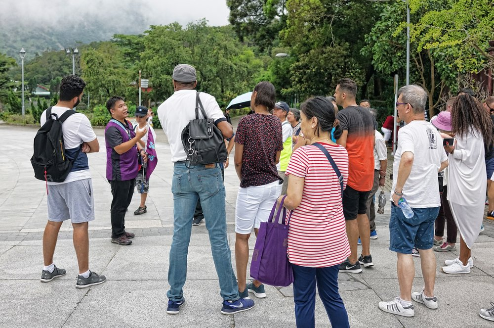 Why tour with 20+ other tourists on a NP 360 Group Tour or similar? | book a Premium Private Tour of Hong Kong with Jamie (no microphones, flags memorised scripts and such) -