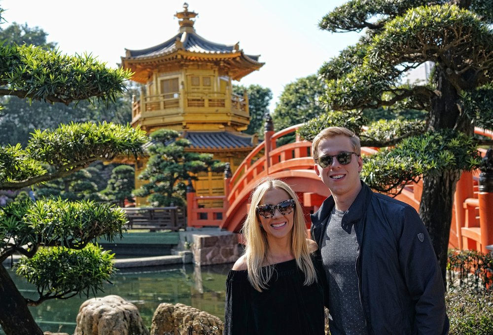 ... and a visit to the Nan Lian Garden in Diamond Hill in Hong Kong is a lovely thing to do on a 3 hour Mini - Tour -