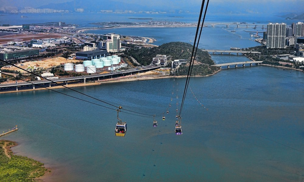 This is my Hong Kong | One of the best cable car rides in the world I would imagine.