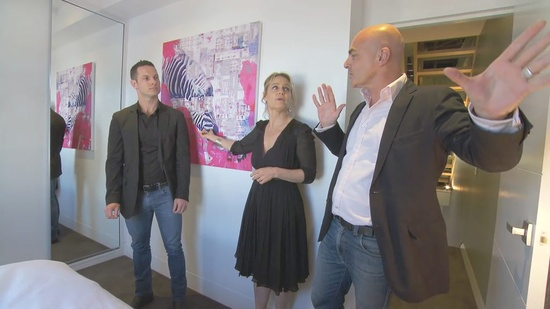 The Block judges Darren Palmer, Shaynna Blaze and Neale Whitaker discuss the great choice of artwork.