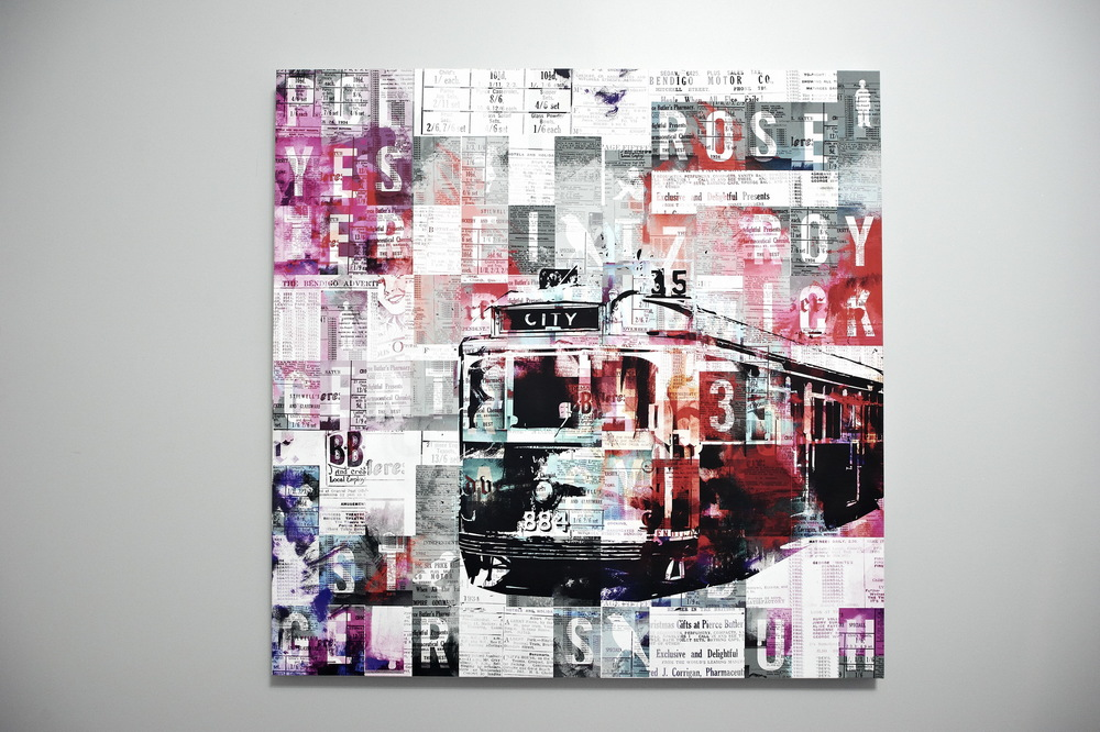 CLose up of the popular Tram piece 'City 35'