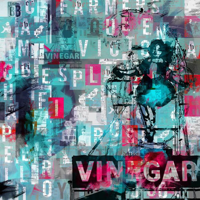 Skipping Girl, 2010 Archival pigment print 100cm x 100cm 135cm x 135cm