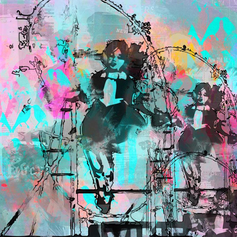 Mind Skip, 2012   Archival pigment print   100cm x 100cm   135cm x 135cm