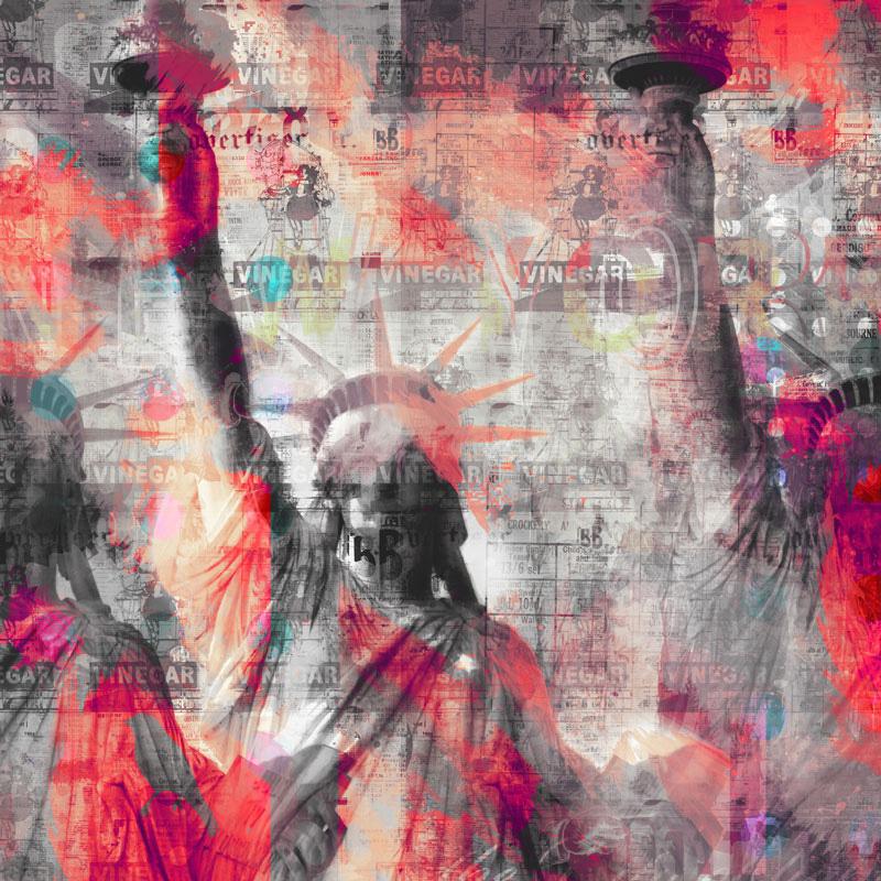 I love, 2012   Archival pigment print   100cm x 100cm   135cm x 135cm