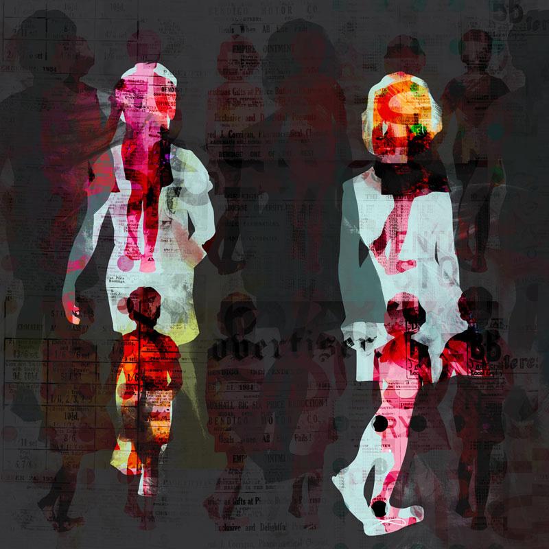 Drifters, 2012   Archival pigment print   100cm x 100cm   135cm x 135cm