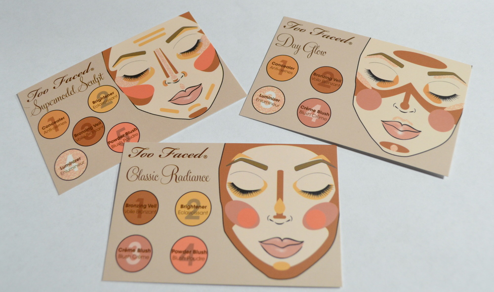 too faced natural face instructions