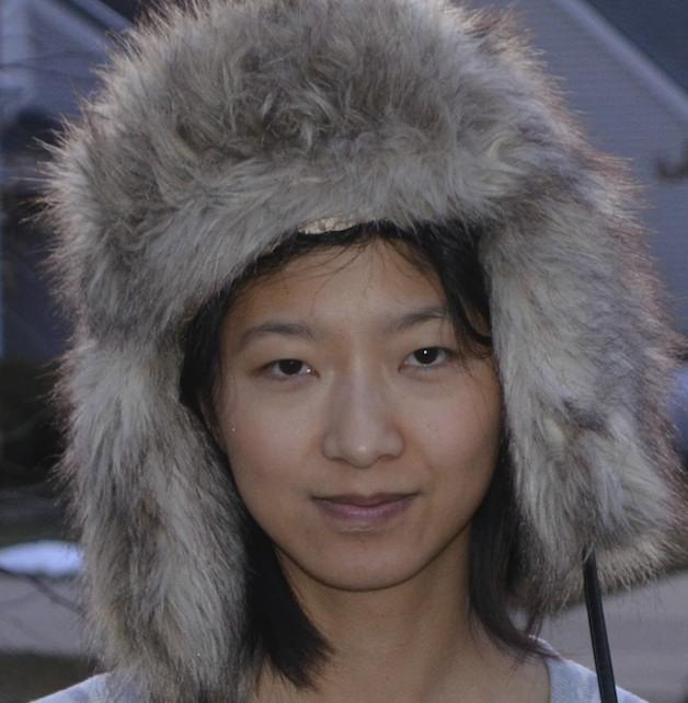 fuzzy hat!