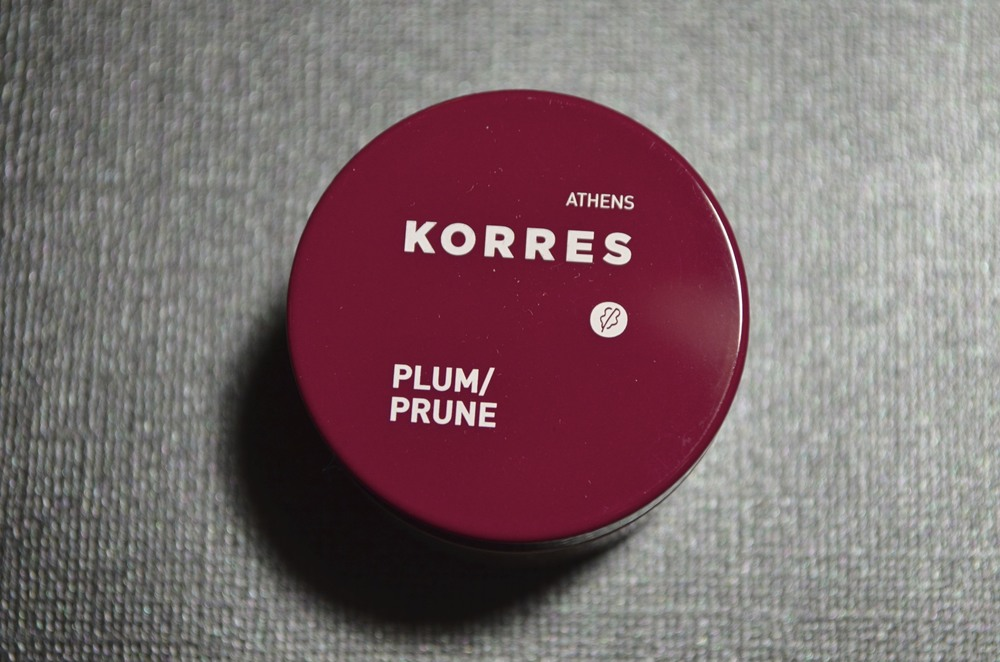 korres lip butter in plum review