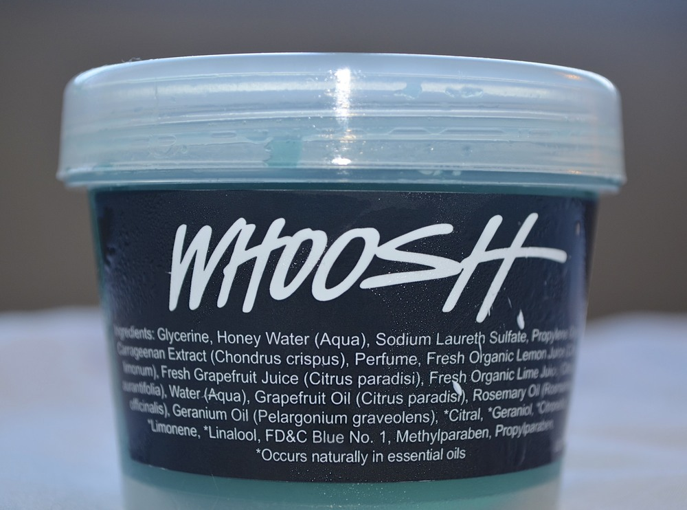 lush whoosh review