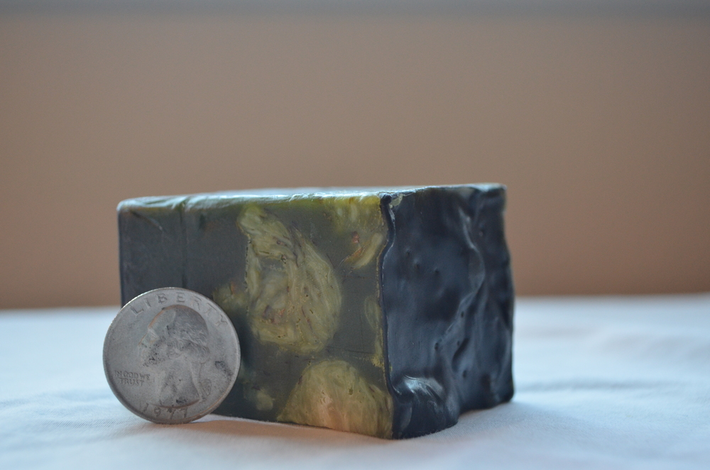 lush demon in the dark soap size