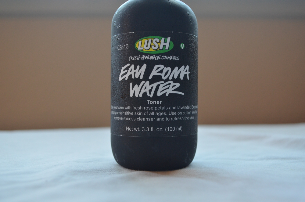 lush eau roma water review
