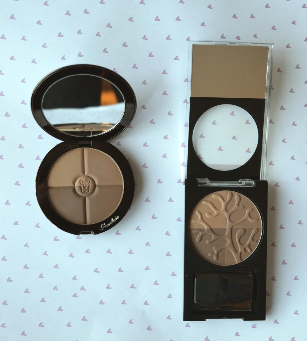 revlon & guerlain bronzer comparison