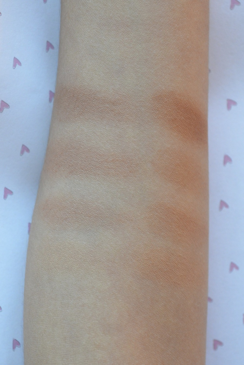 revlon vs guerlain bronzer swatches