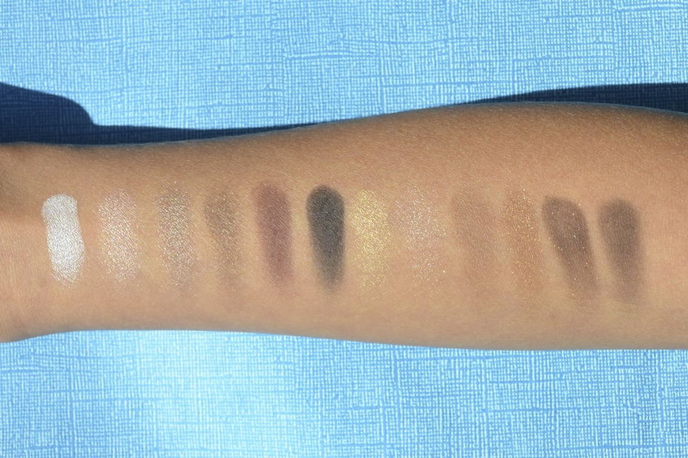 thebalm nude 'tude swatches