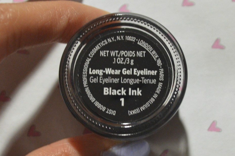 bobbi brown long wear gel eyeliner review