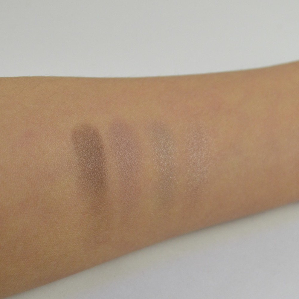 burberry pink taupe eye palette swatches