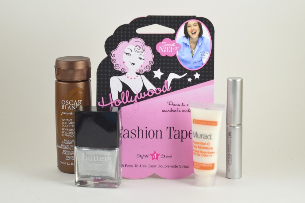 march 2013 sample society box,