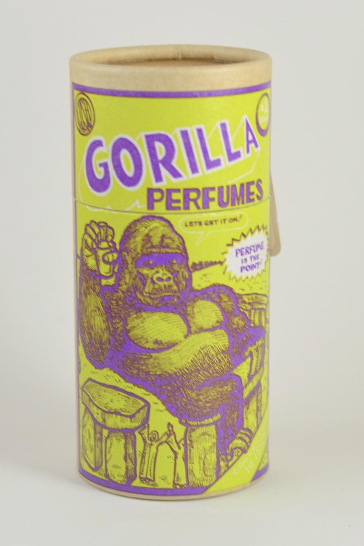 lush gorilla perfume packaging
