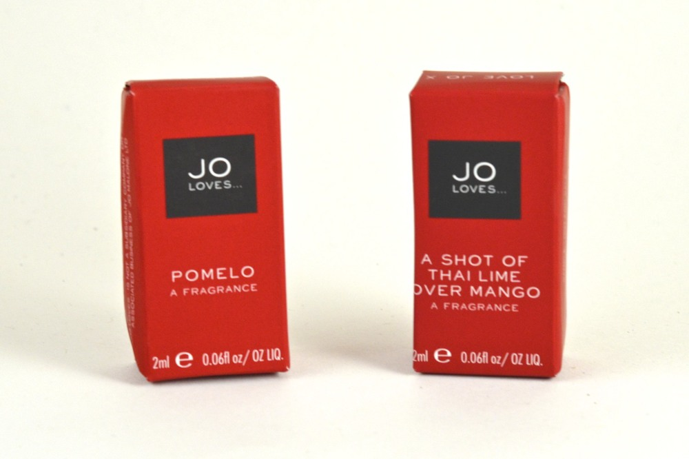jo loves pomelo review, jo loves review, jo loves a shot of thai lime over mango review